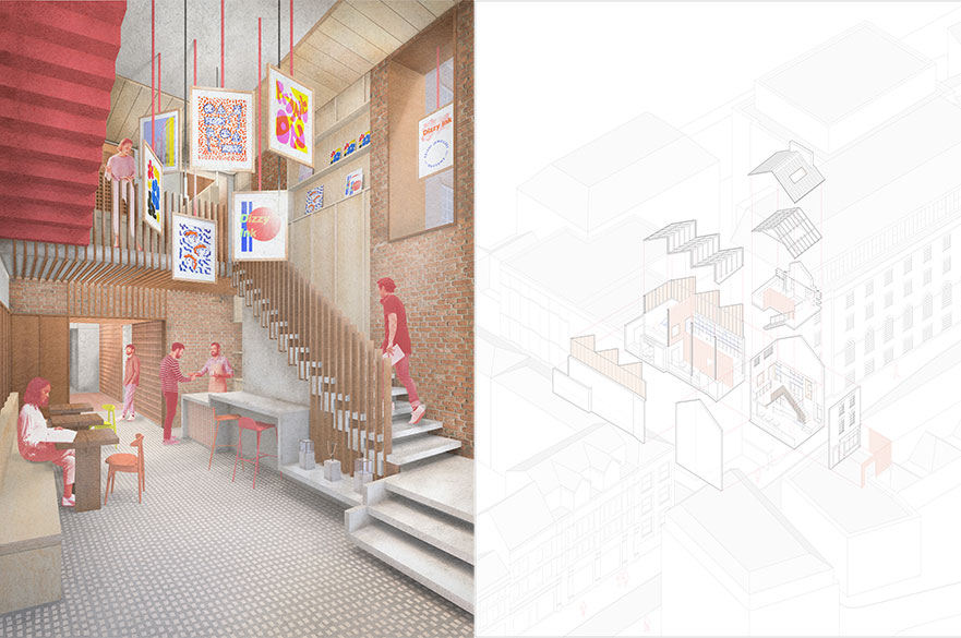 The Gem by BA (Hons) Interior Architecture and Design student, Saskia Warnes