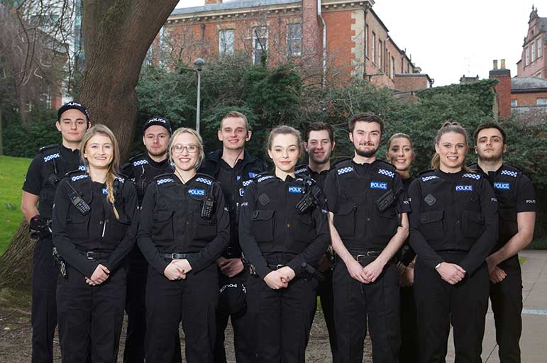 Policing pathway students