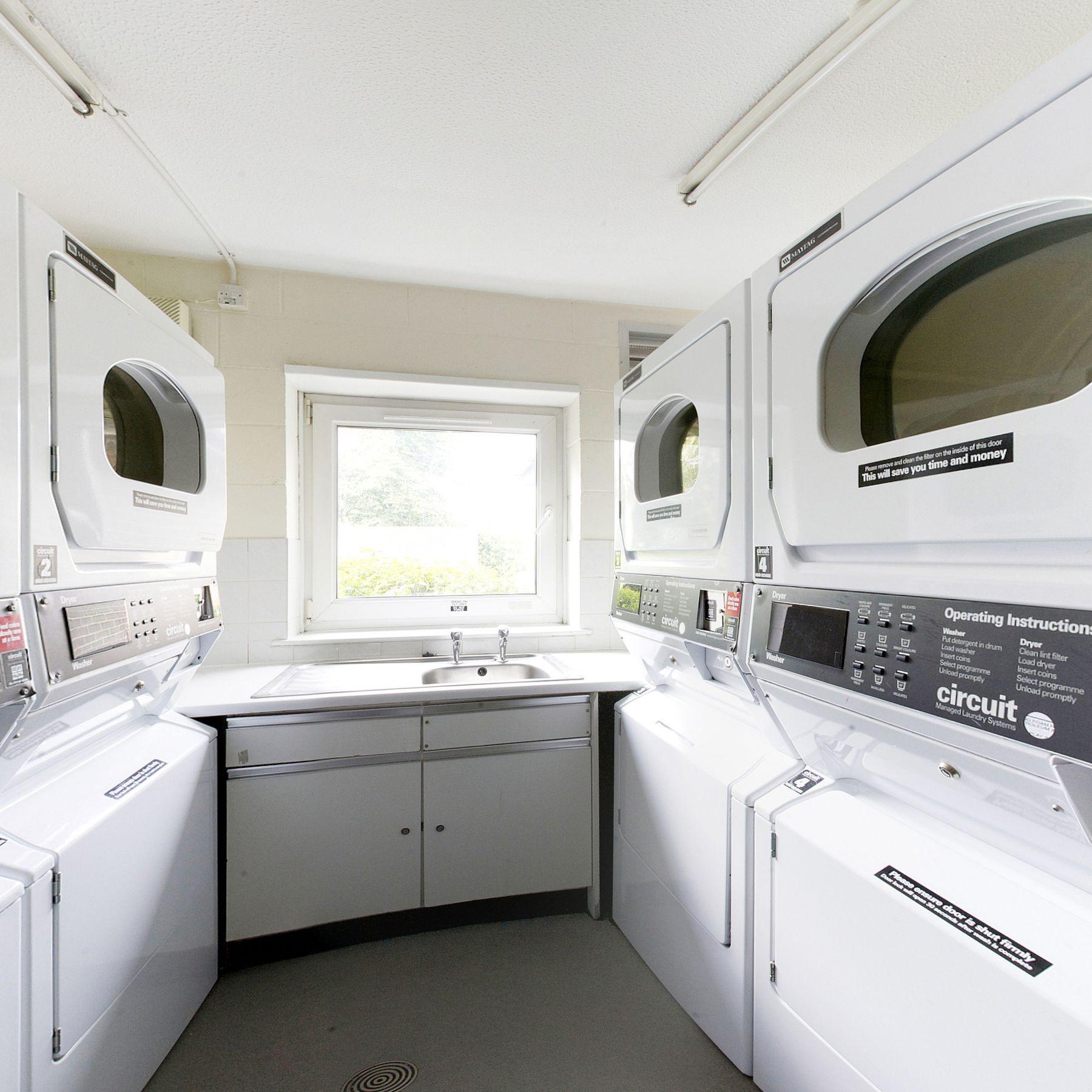 Meridian Court laundry