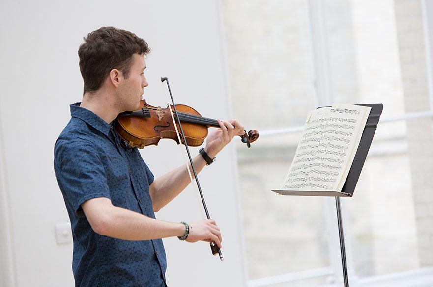 NTU violinist