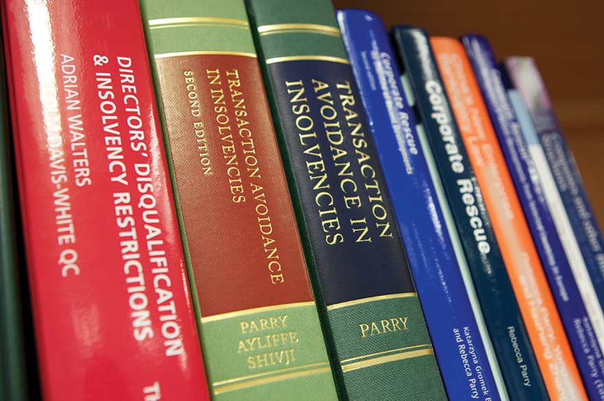 Insolvency books