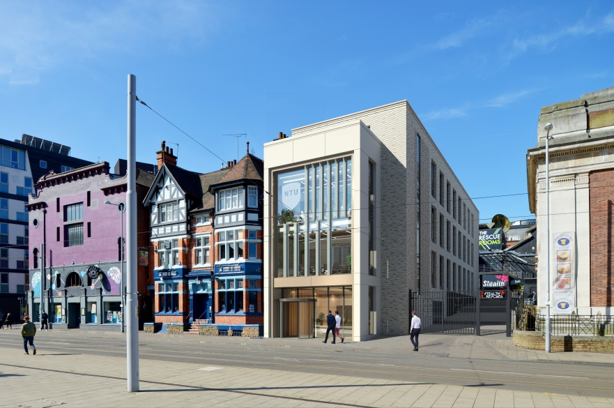 Artist's impression of Goldsmith Street building