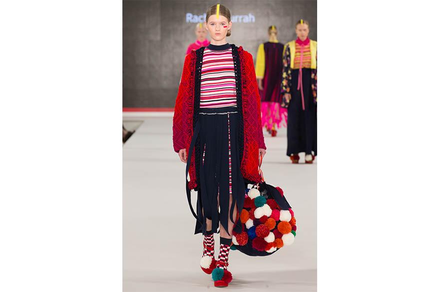 Rachel Currah, BA (Hons) Fashion Knitwear Design and Knitted Textiles, Graduate Fashion Week 2017