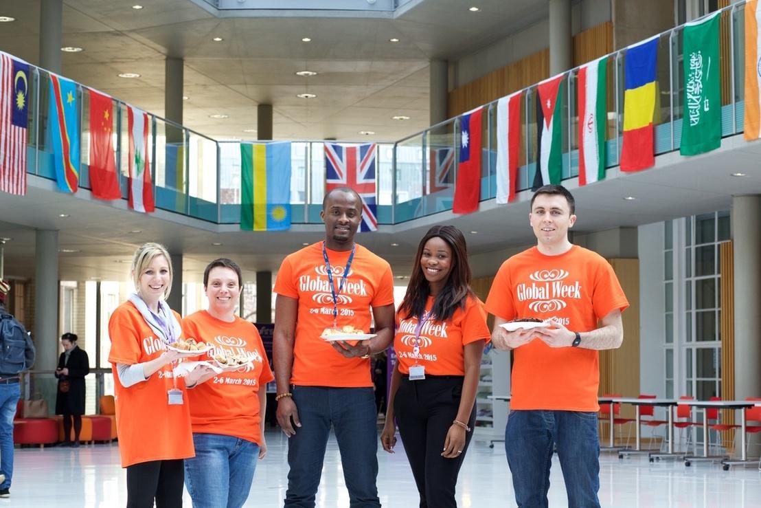 Student ambassadors at Global Week
