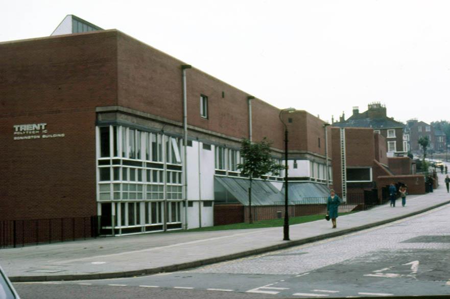 exterior of Bonington Building