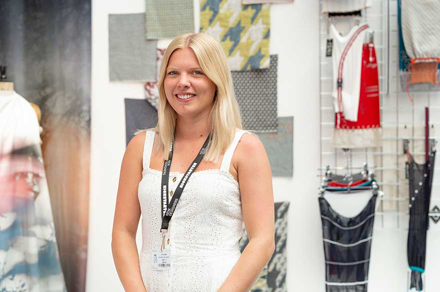 Lucy Knights, BA (Hons) Textile Design