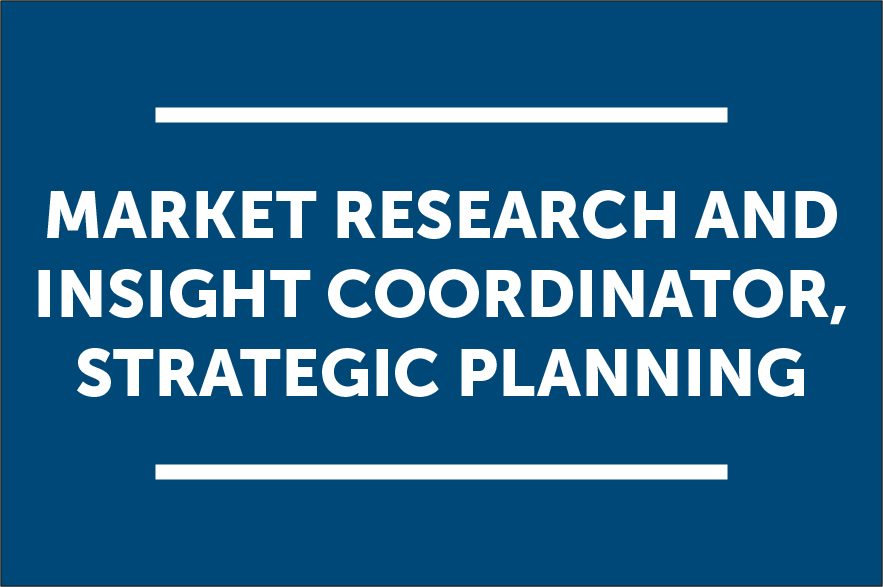 Market Research and Insight Coordinator