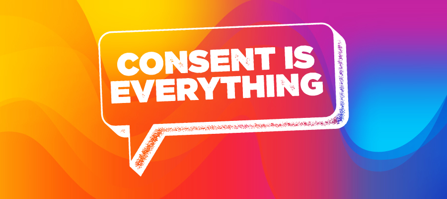 Consent is everything logo
