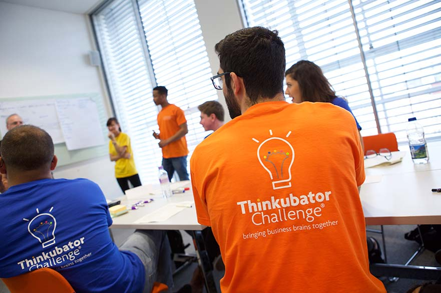 Thinkubator students