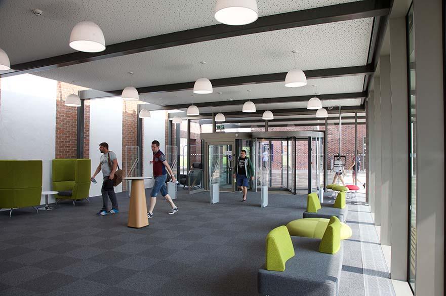 Clifton Library entrance