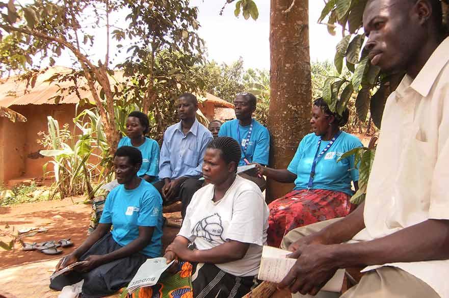 Uganda health workers