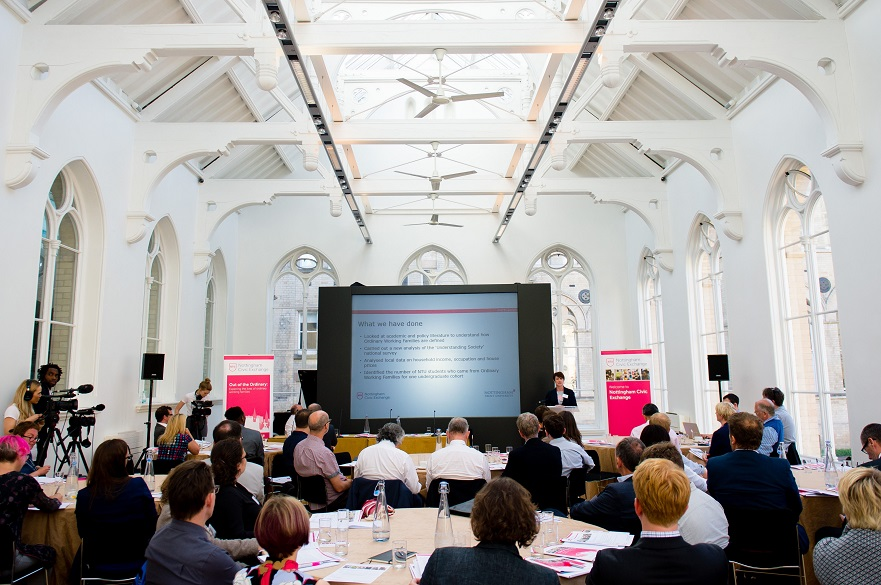 Nottingham Civic Exchange  launch event
