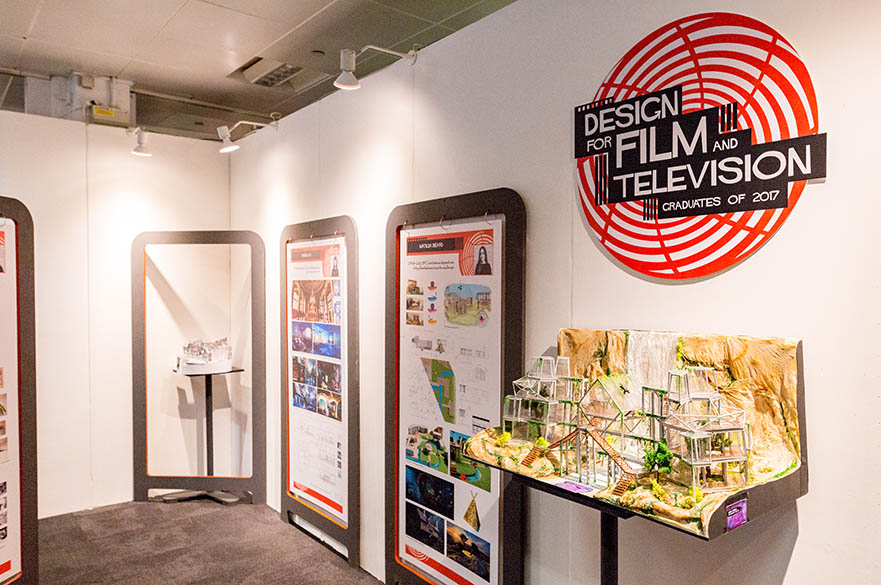 BA (Hons) Design For Film and Television, New Designers Part Two 2017