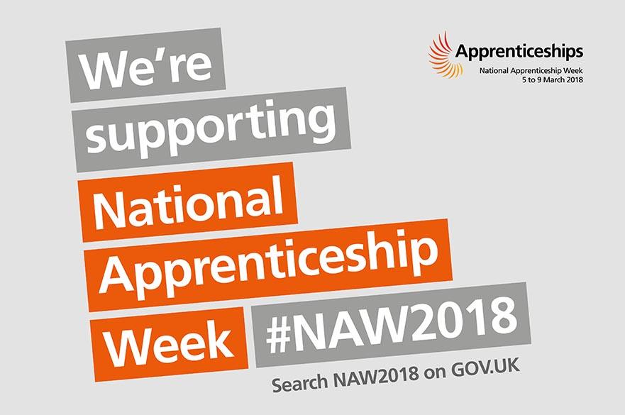 National Apprenticeship Week 2018 banner