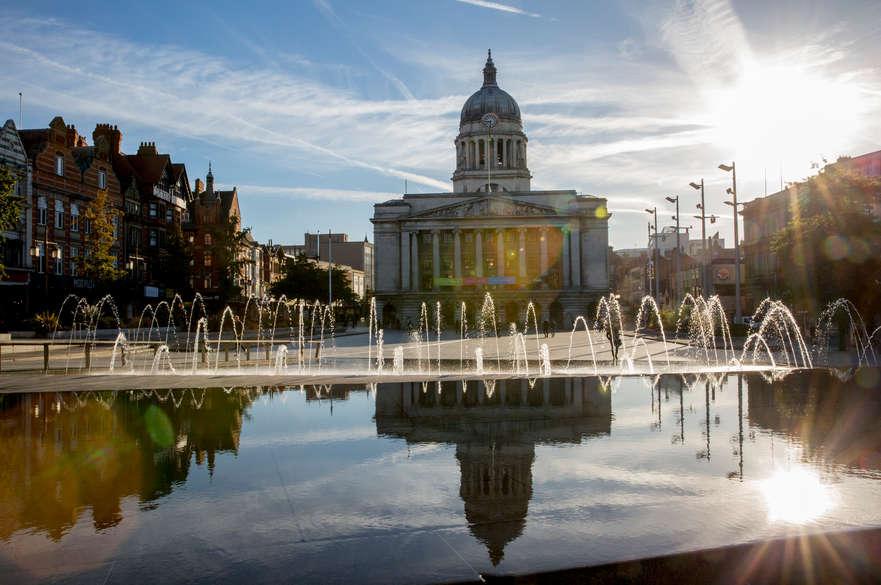 Market Square Nottingham