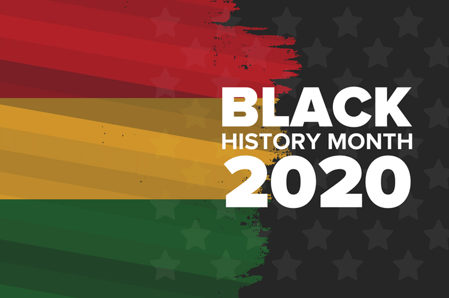Black History Month 2020 logo