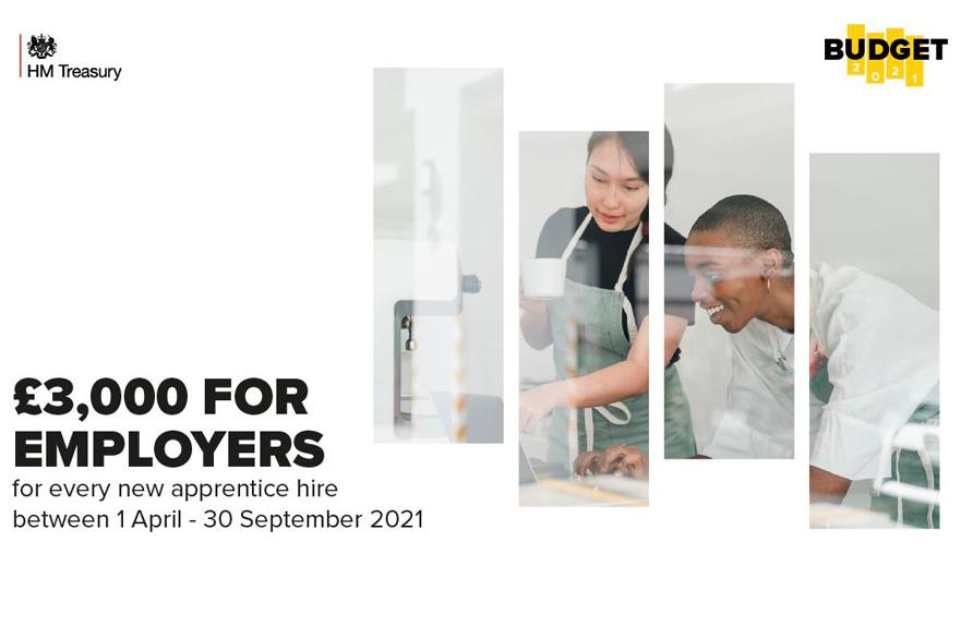 Apprenticeship incentive