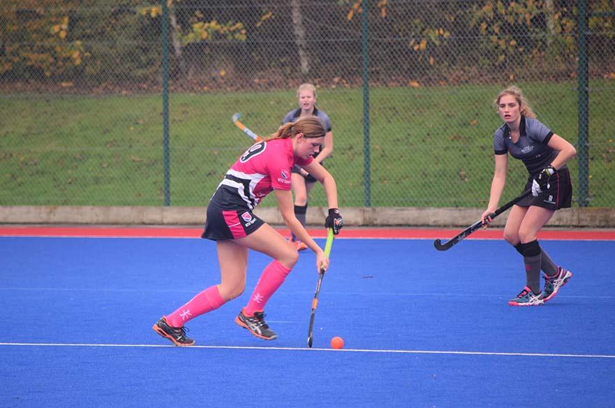 Womens hockey player