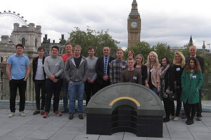 Planning and Development students visit London
