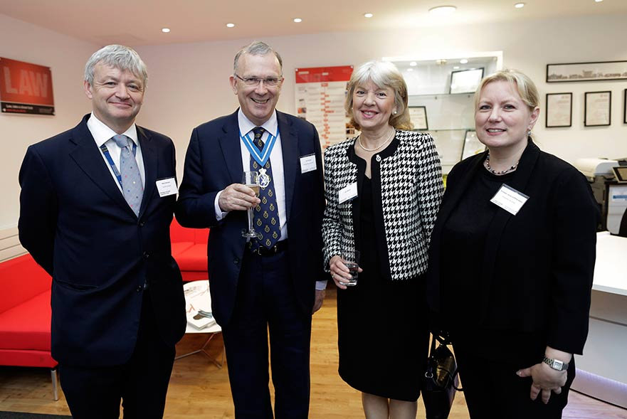 Guests at Business and Enterprise Law Service launch