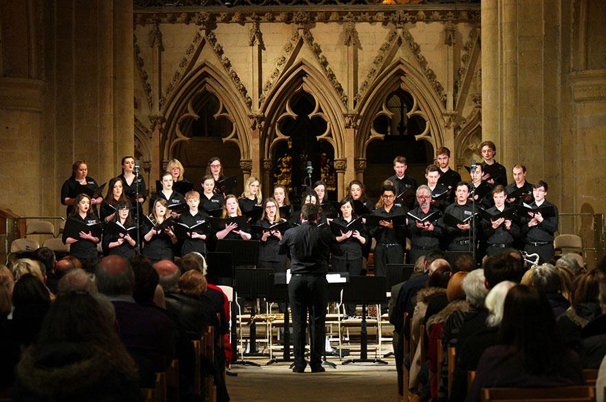 The award-winning NTU Chamber Choir