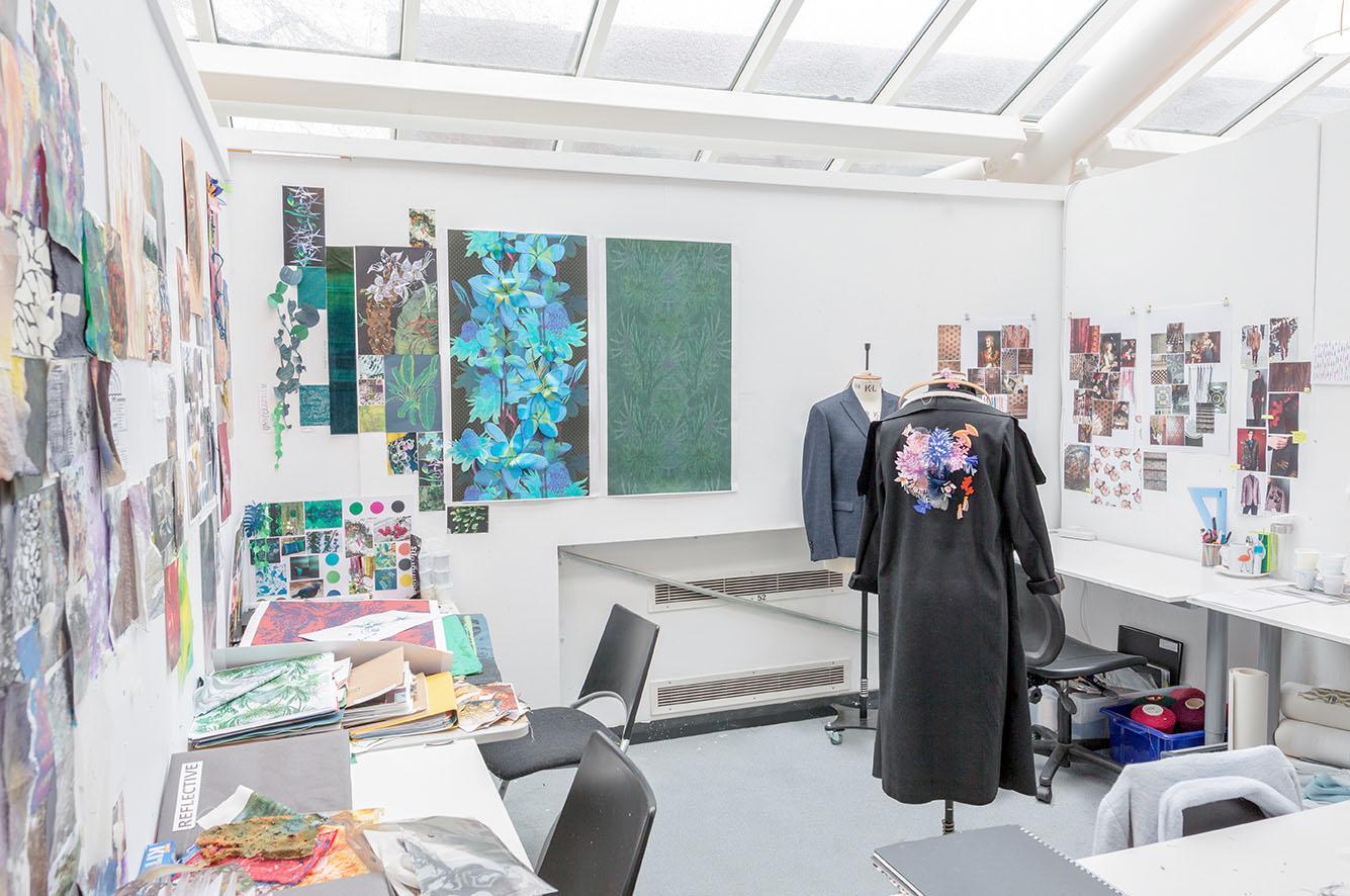 Bonington postgraduate studio