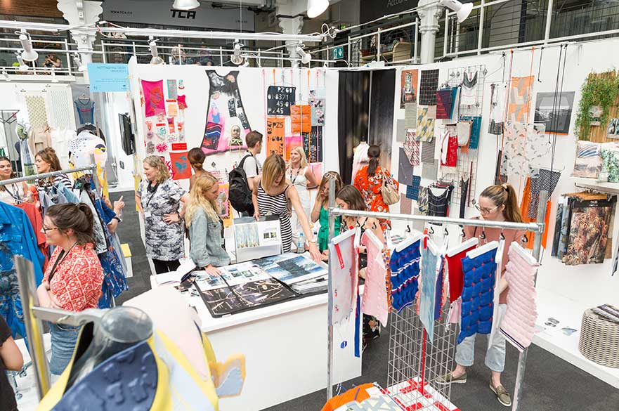 NTU Textile Design at New Designers