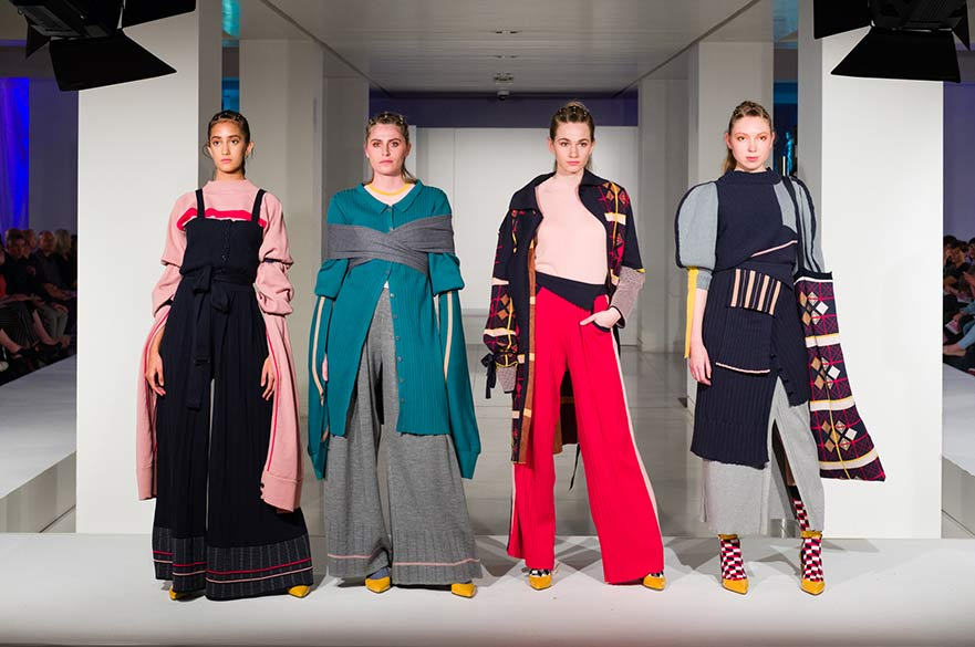 Final collection by Chloe Roberts, 2018