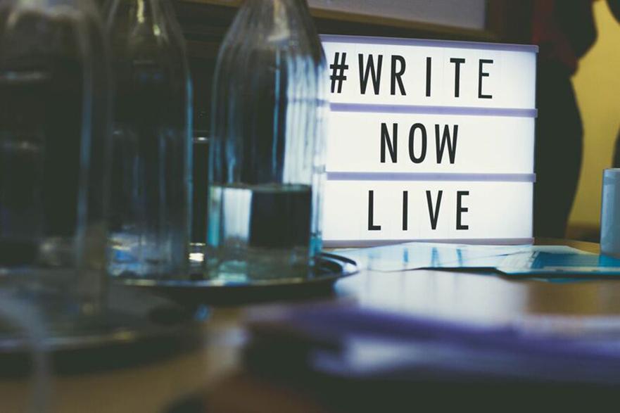 WriteNow Live image