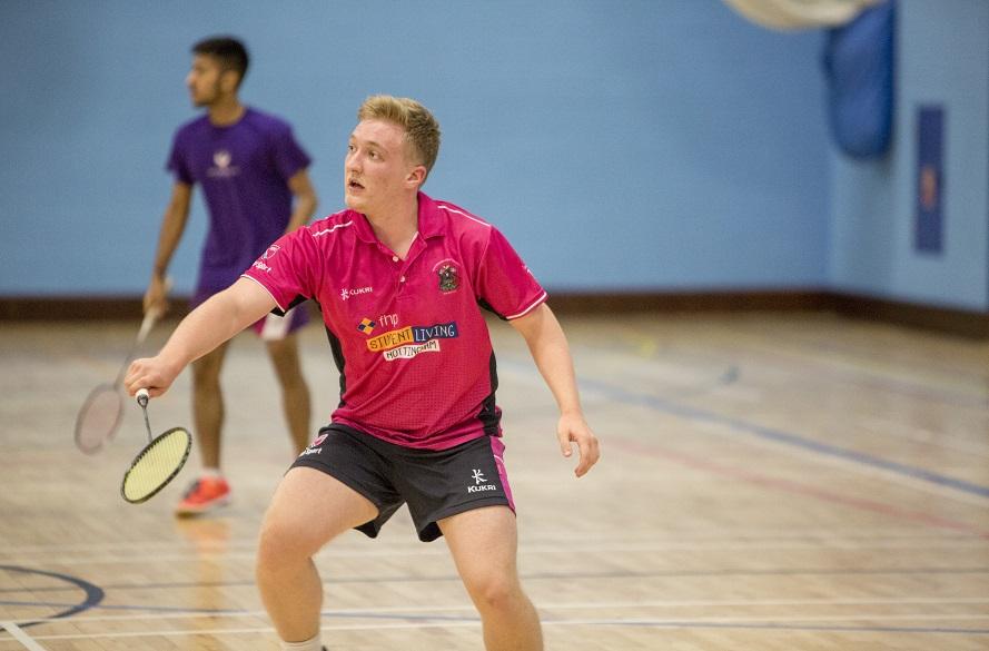 NTU Male Badminton player