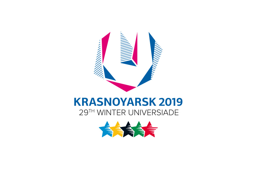 Logo of the World University Winter games 2019