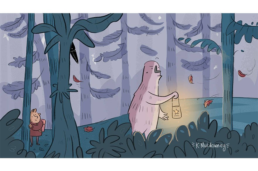 The Forest Giant and Gerald by Kate Muldowney, MA Animation