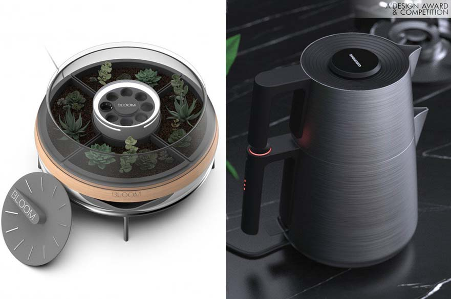 Bloom Succulent Grow Box and Grundig Serenity Tea Maker