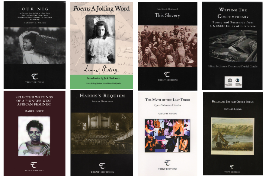 Image of a selection of Trent Editions Titles