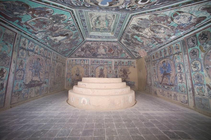 Cave 465 interior