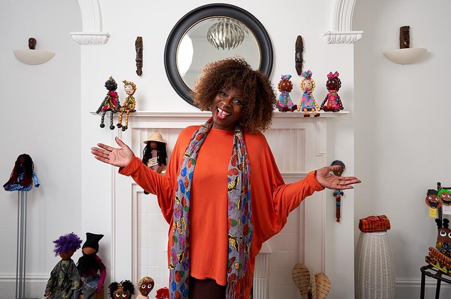 Empowerment Doll-making workshop with artist Rita Kappia