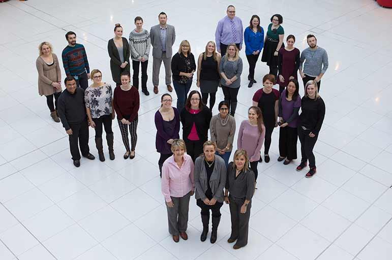 admissions team