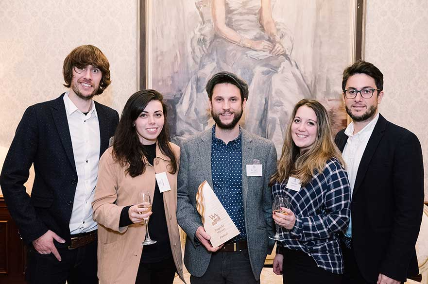 Students at Wood Awards
