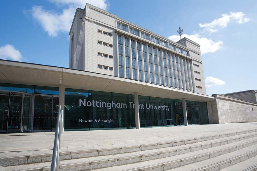 The Newton building