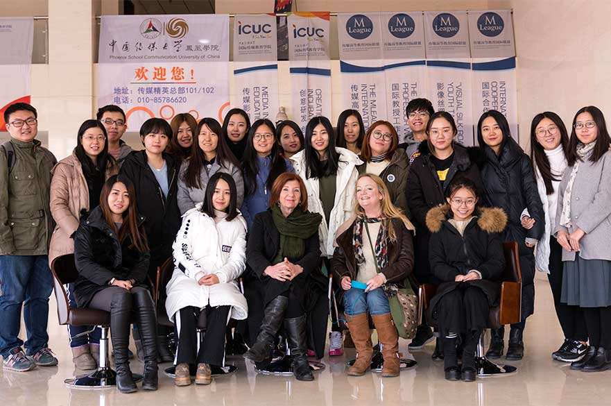 ICUC students with NTU academics
