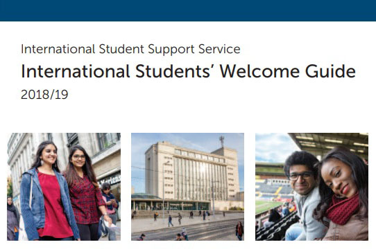 International Students' Welcome Gudie