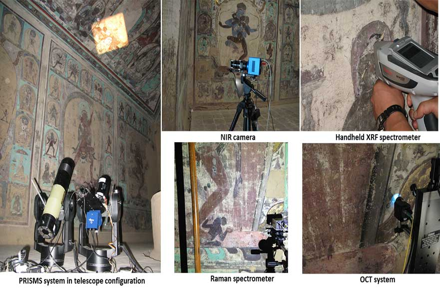 Mogao Caves Collage
