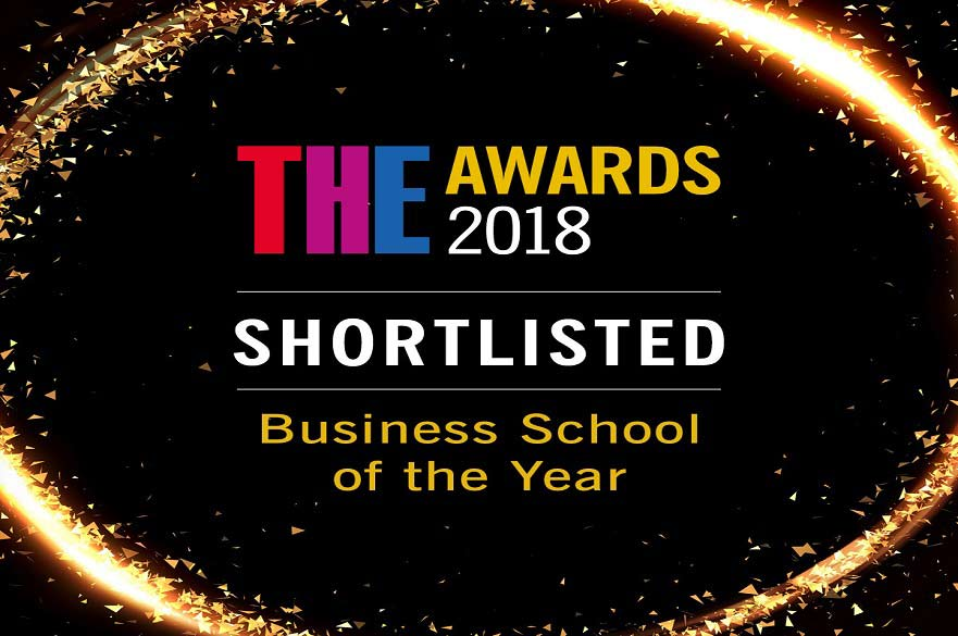 Nottingham Business School has been shortlisted for Business School of the Year in the Times Higher Education awards