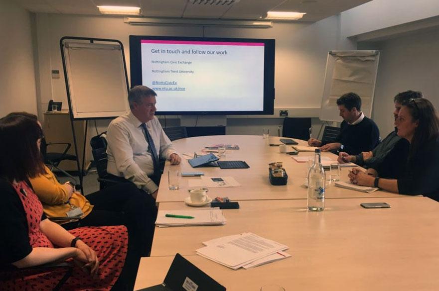 meeting between FCA and NTU colleagues