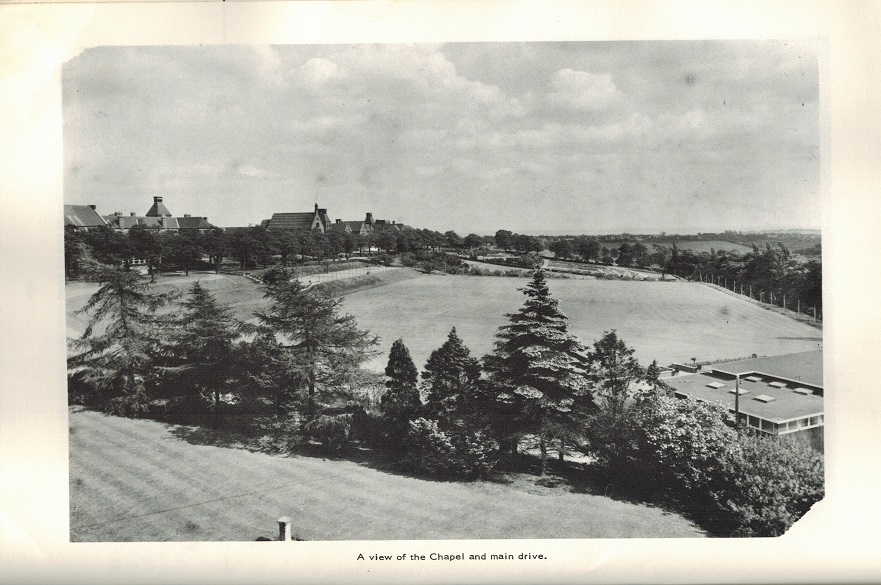 An old photo of Mapperley hospital and grounds