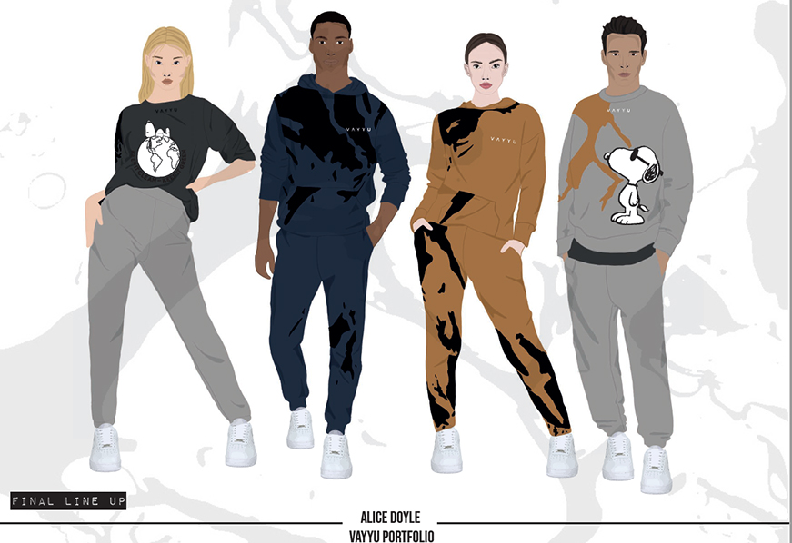 Alice Doyle's Peanuts x Vayyu Fashion Designs