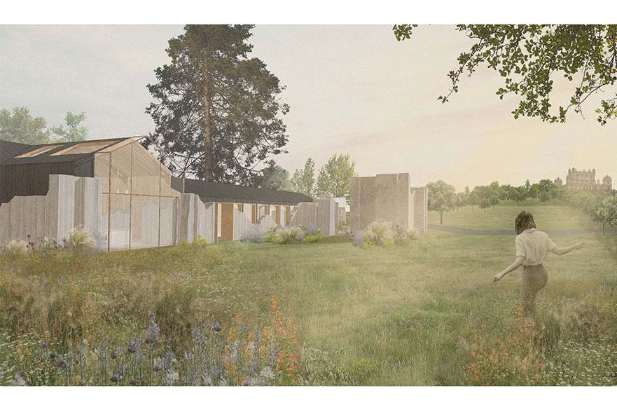 K.F. Folly by BA (Hons) Interior Architecture and Design student, Izzi Anderton.