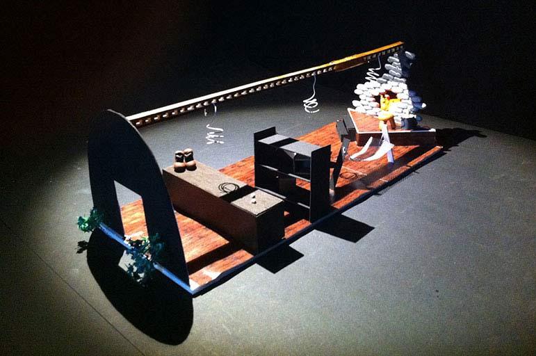 Theatre design model