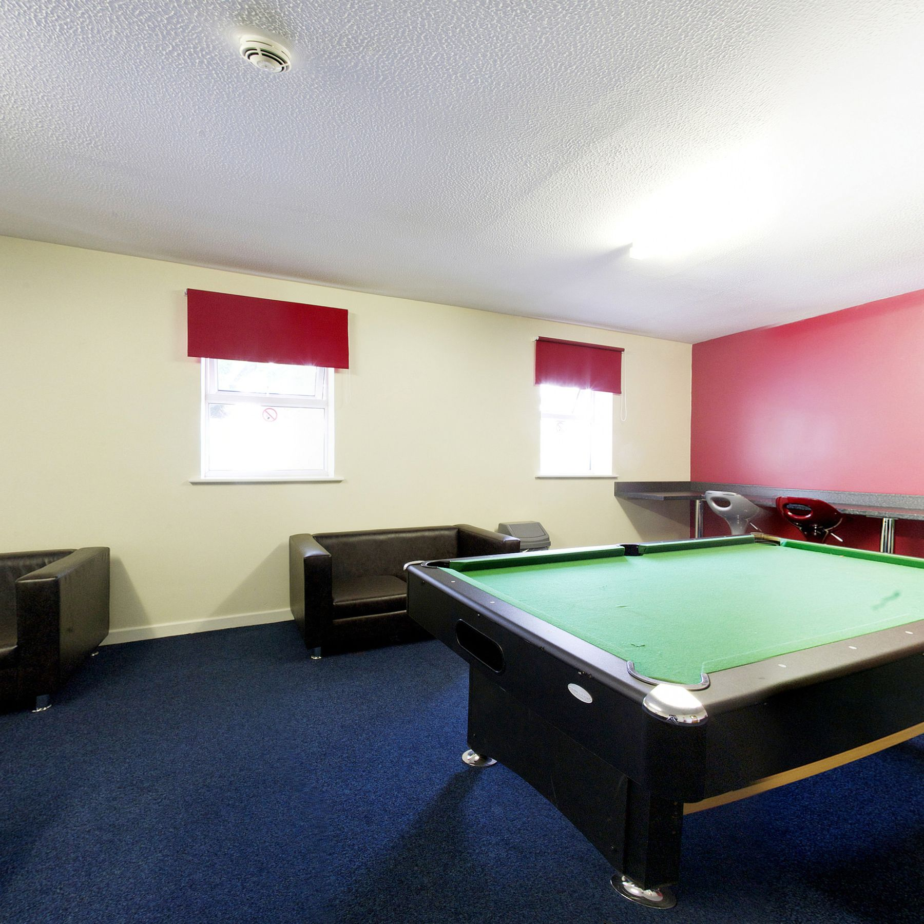 Norton Court common room