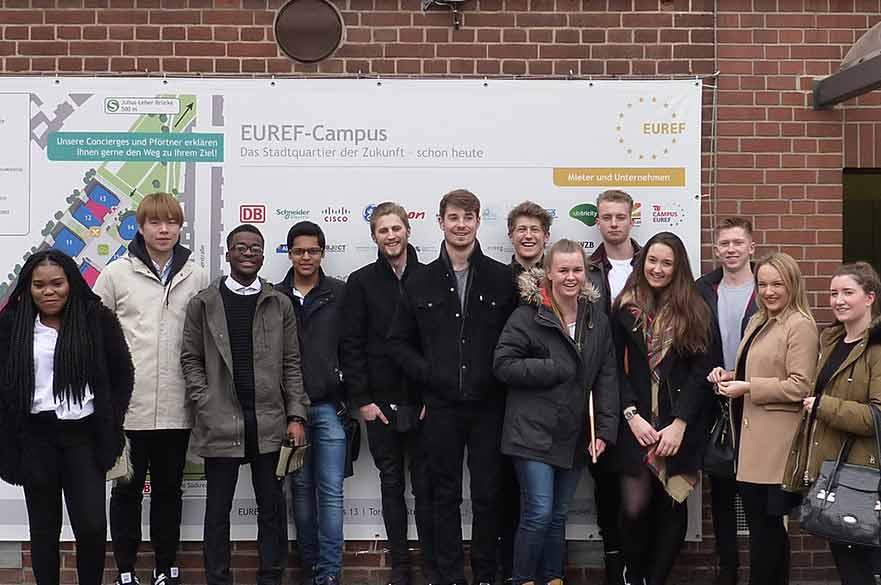Property Management students visit Berlin
